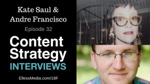 Kate Saul & Andre Francisco: The 18F Content Guide – Episode 32