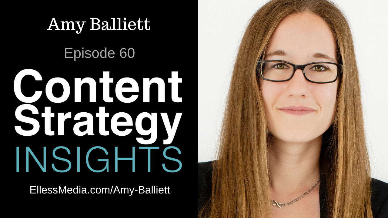 image: podcast cover art for interview with Amy Balliett