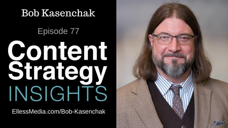 podcast cover art for interview with Bob Kasenchak, content taxonomy expert