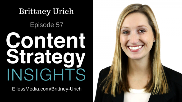 cover art for podcast interview with Brittney Urich, senior user experience designer at Ogilvy