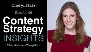 podcast cover art for interview with Cheryl Platz, multimodal design expert