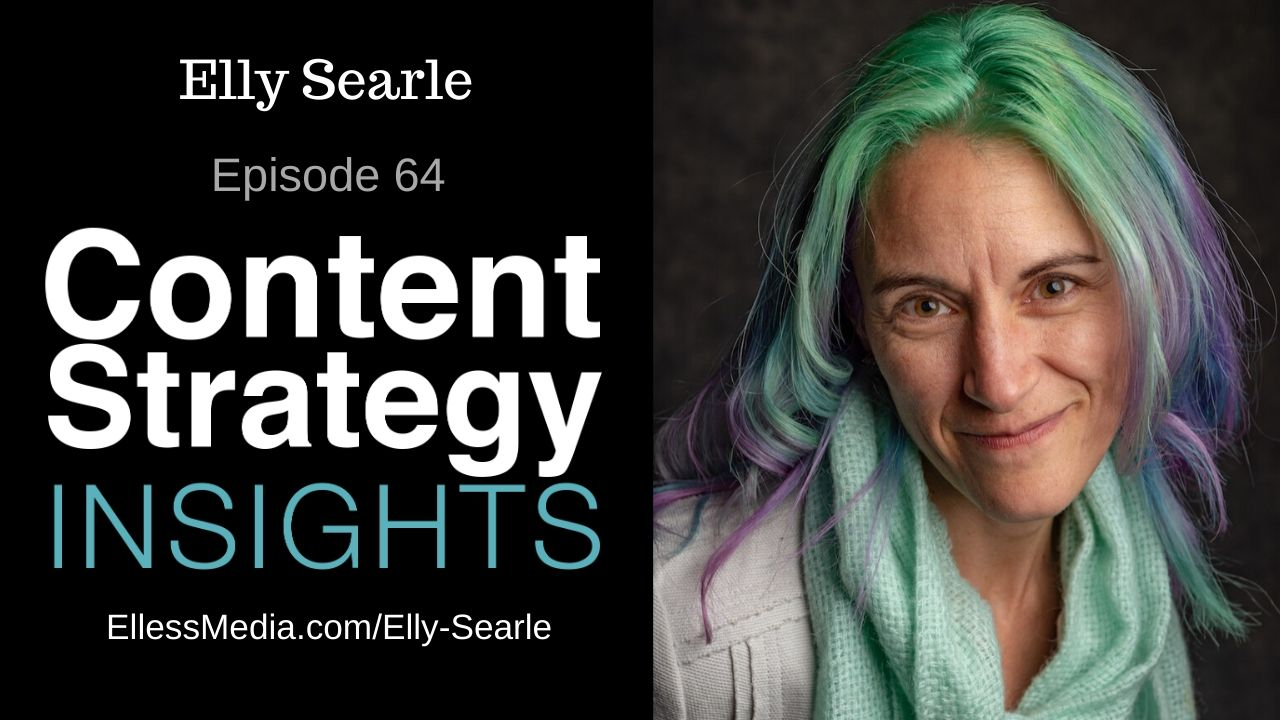 podcast cover art for interview with Elly Searle