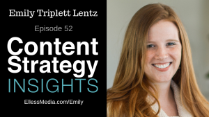 podcast episode cover image of Emily Triplett Lentz, content inclusion expert