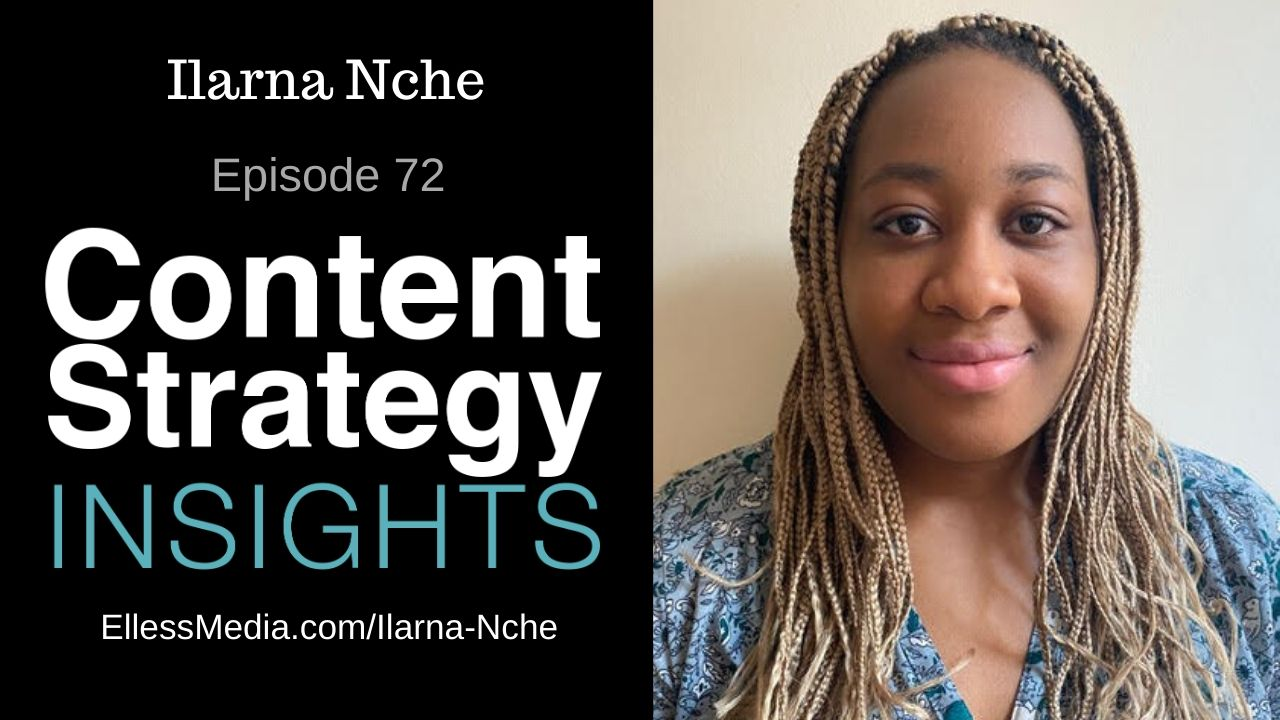 podcast cover art for interview with Ilarna Nche, voice application technical expert