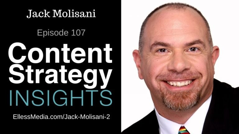 podcast cover art for interview with Jack Molisani, content strategy career management and job hunting expert