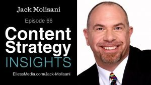 podcast cover art for interview with Jack Molisani, LavaCon content strategy conference organizer