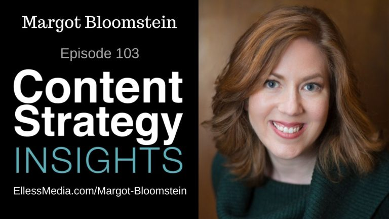 podcast cover art for interview with Margot Bloomstein, author of Trustworthy