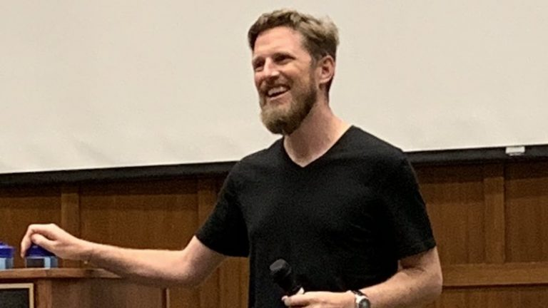 WordPress founder Matt Mullenweg at WordCamp Portland