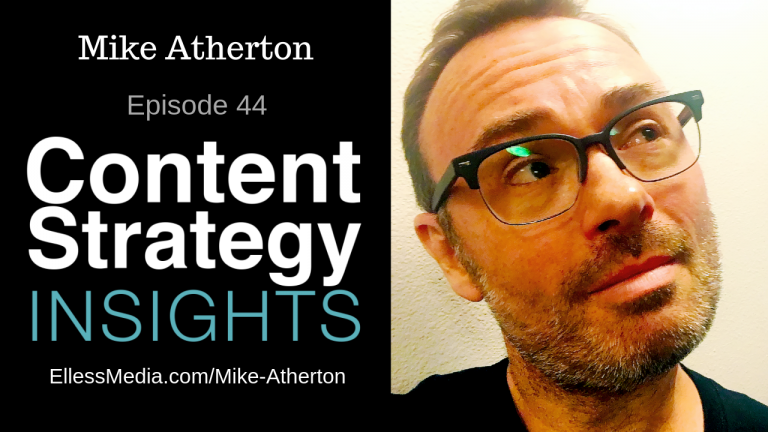 Mike Atherton, author, Designing Connected Content