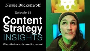 cover image for podcast interview with Nicole Buckenwolf, product taxonomy and ontology expert