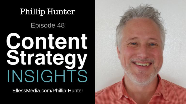 cover art for podcast interview with Phillip Hunter, digital conversation designer