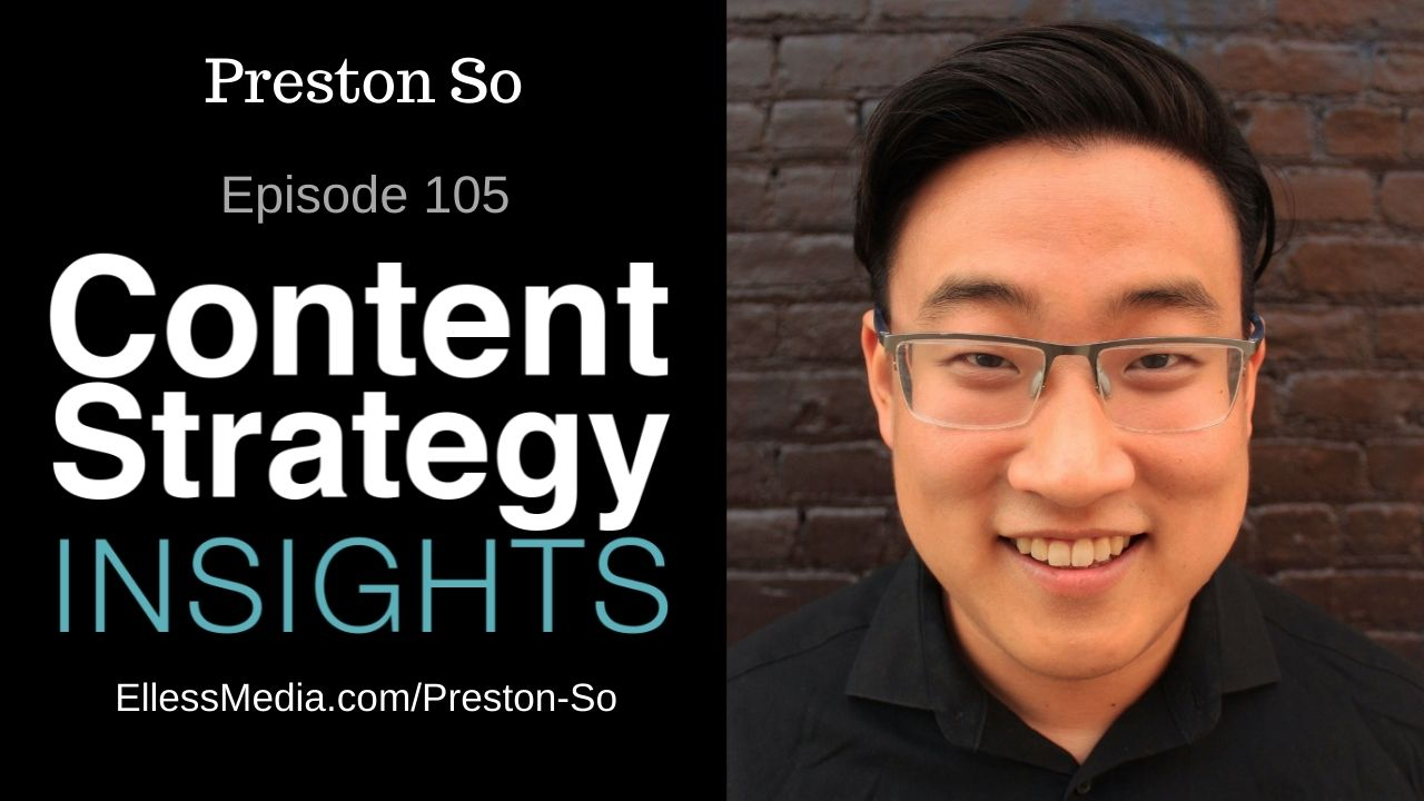 podcast cover art for interview with Preston So, omnichannel strategy and voice design expert