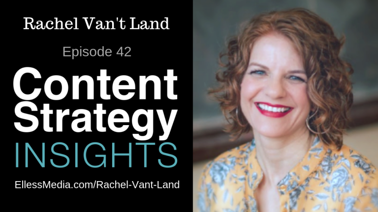 Rachel Van't Land - voice and branding expert