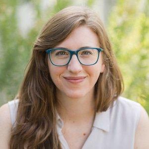 photo of Rebecca Evanhoe, conversation designer