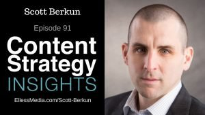 podcast cover art for interview with Scott Berkun, author of How Design Makes the World