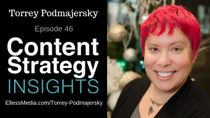 Torrey Podmajersky - author of Strategic Writing for UX