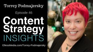 Torrey Podmajersky - author of Strategic Writing for UX