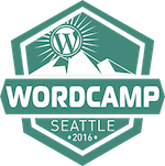 WordCamp Seattle 2016 logo