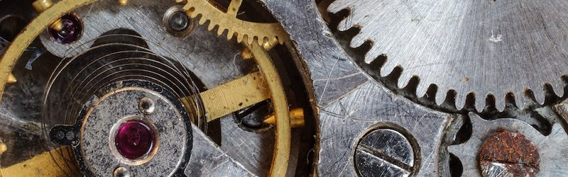 cogs & gears to illustrate a content strategy model