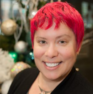 photo of Torrey Podmajersky, author of Strategic Writing for UX